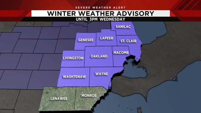 Metro Detroit Under Winter Weather Advisory Track Live Updates Radar Temps Here Weather forecast for more than 200.000 cities around the world. clickondetroit