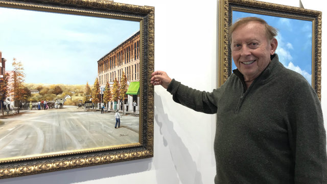 Art Collection Depicting 19th Century Life In Ann Arbor Makes Debut At Concordia University