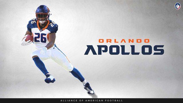Bryce Canady Orlando Apollos Game Jersey