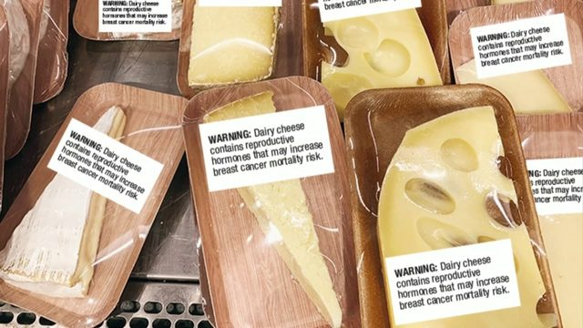 Why cheese 'is a concern' for every woman