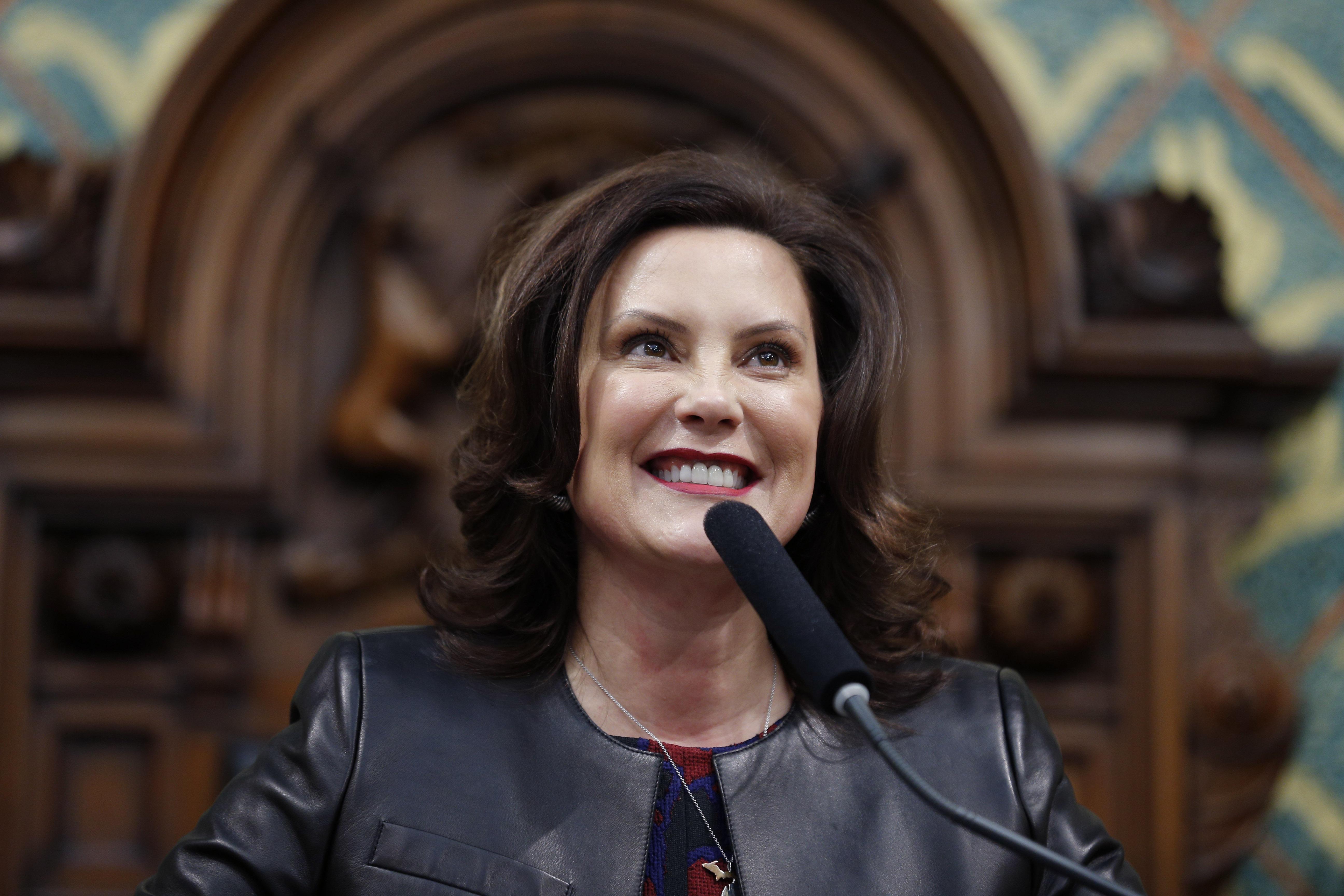 Watch Michigan Gov Gretchen Whitmer Delivers Democratic Response To Trump State Of The Union Speech