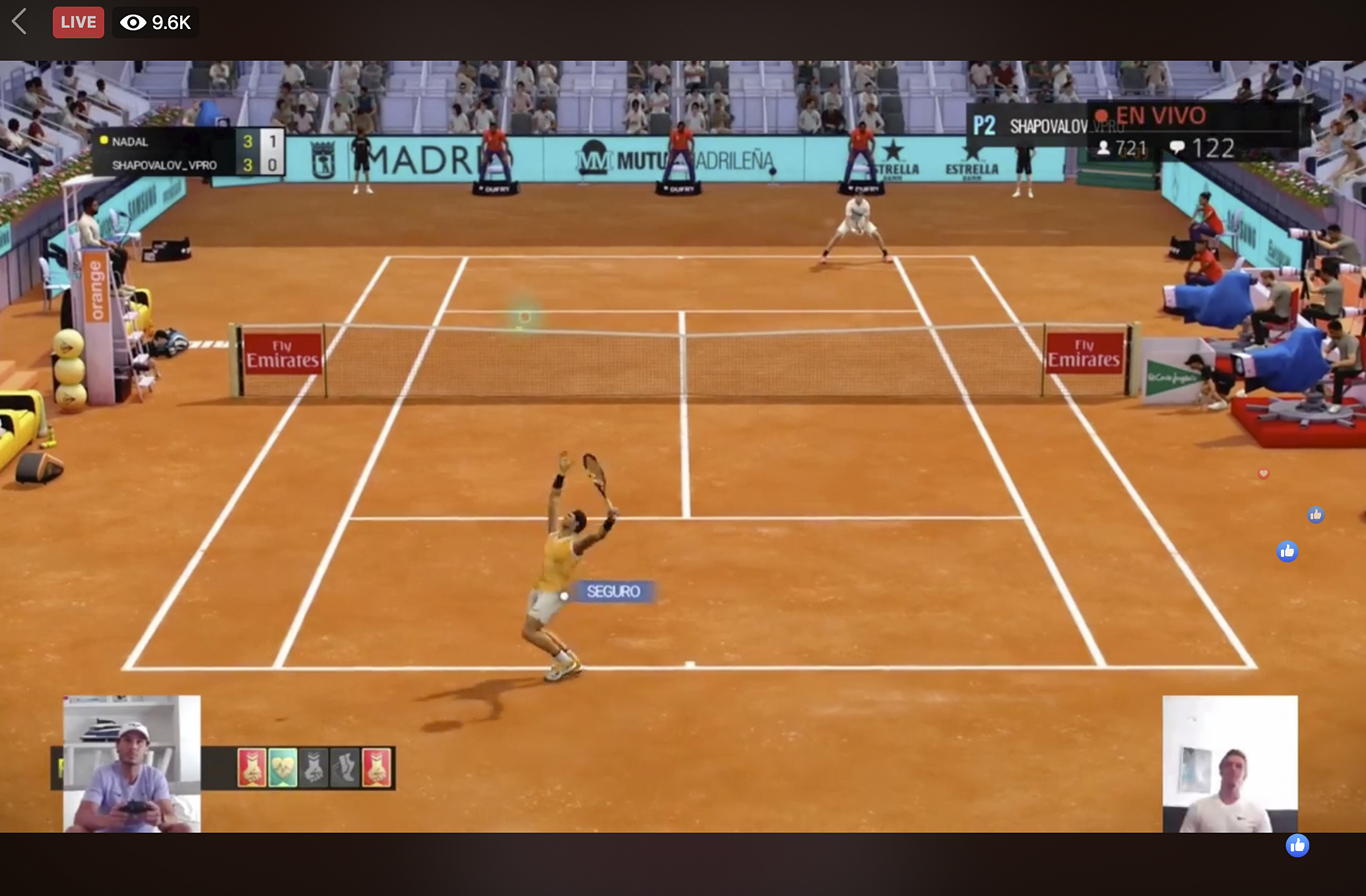 Fake Injury Glitches Madrid Open Tennis Tries Covid Gaming