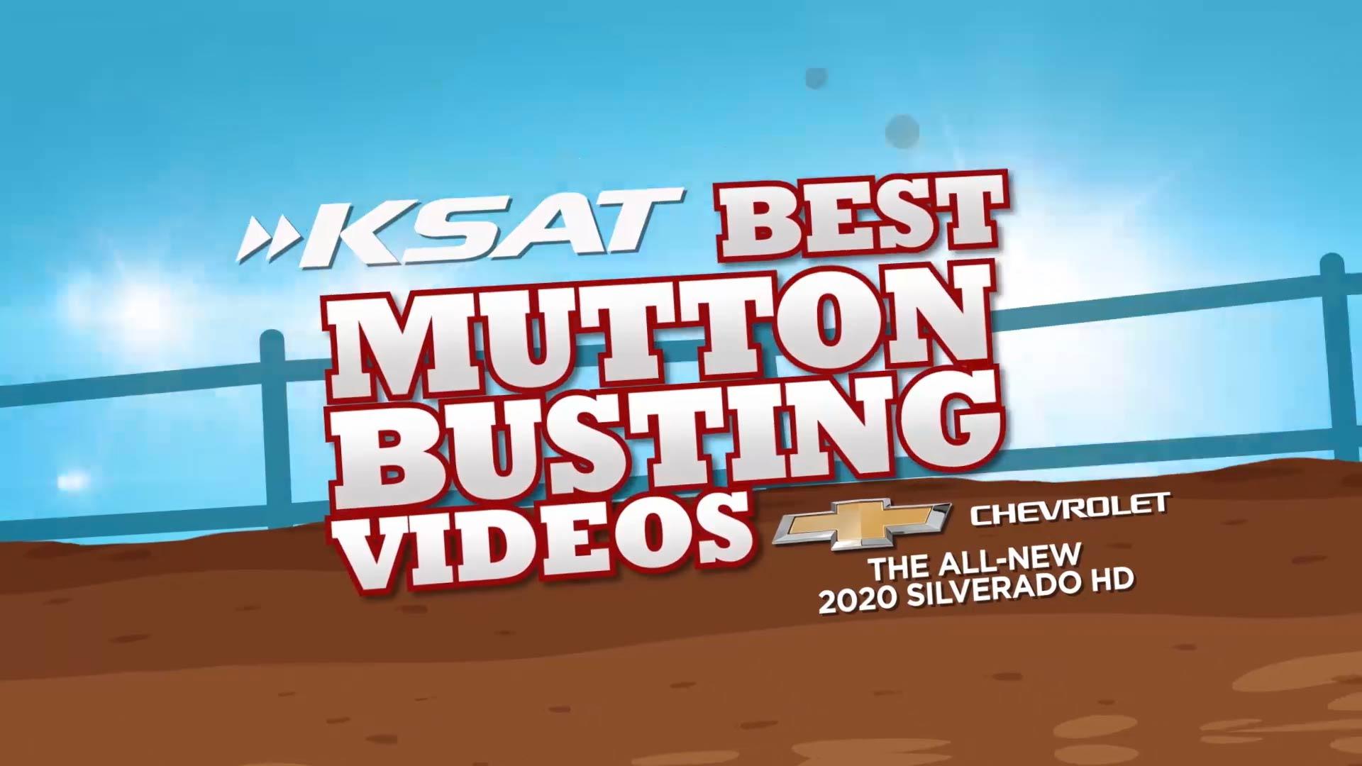 Mutton Busting Videos