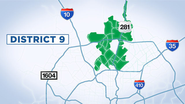 Your Questions Answered: San Antonio City Council District 9 ... on city of seattle boundary map, city of baltimore maryland map, city map of pittsburgh before consolidation, city of council bluffs map, city line map of los angeles,