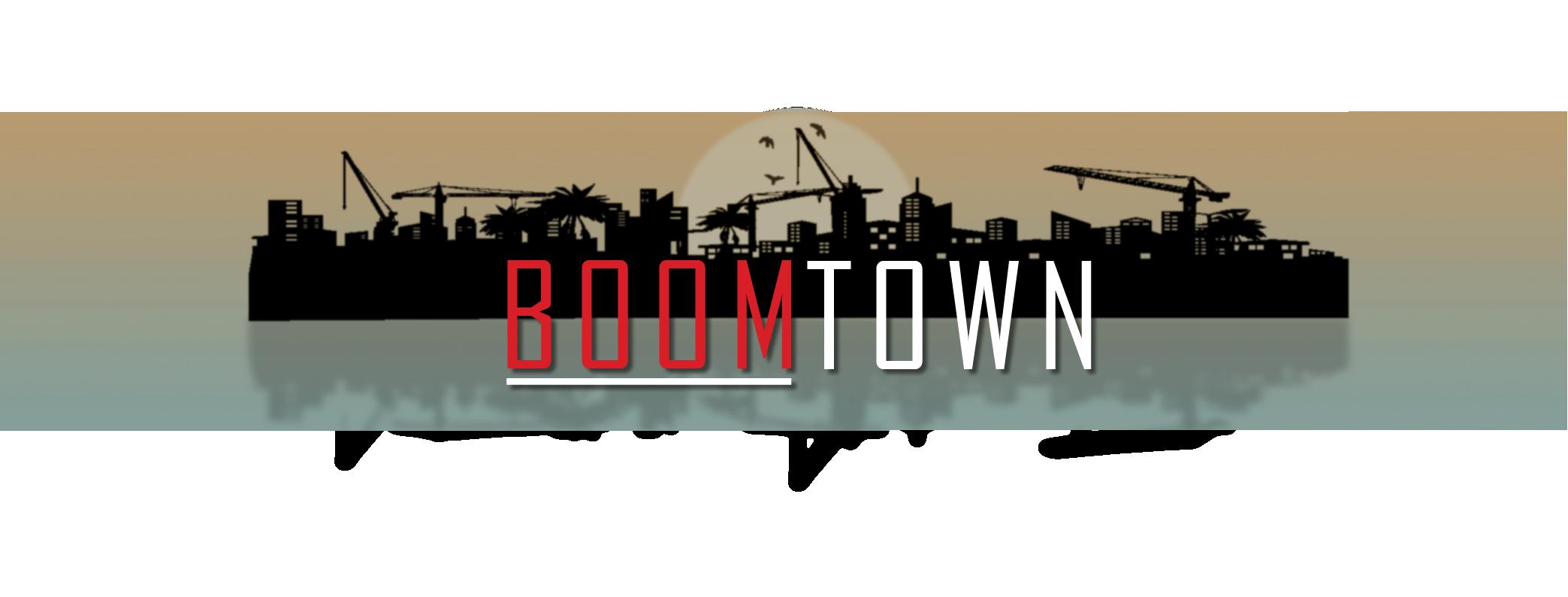 Boomtown banner