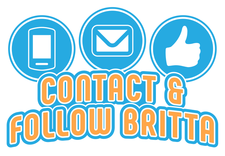 Contact and follow Britta