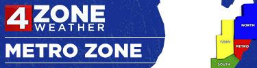 4ZONE Weather: Metro Zone