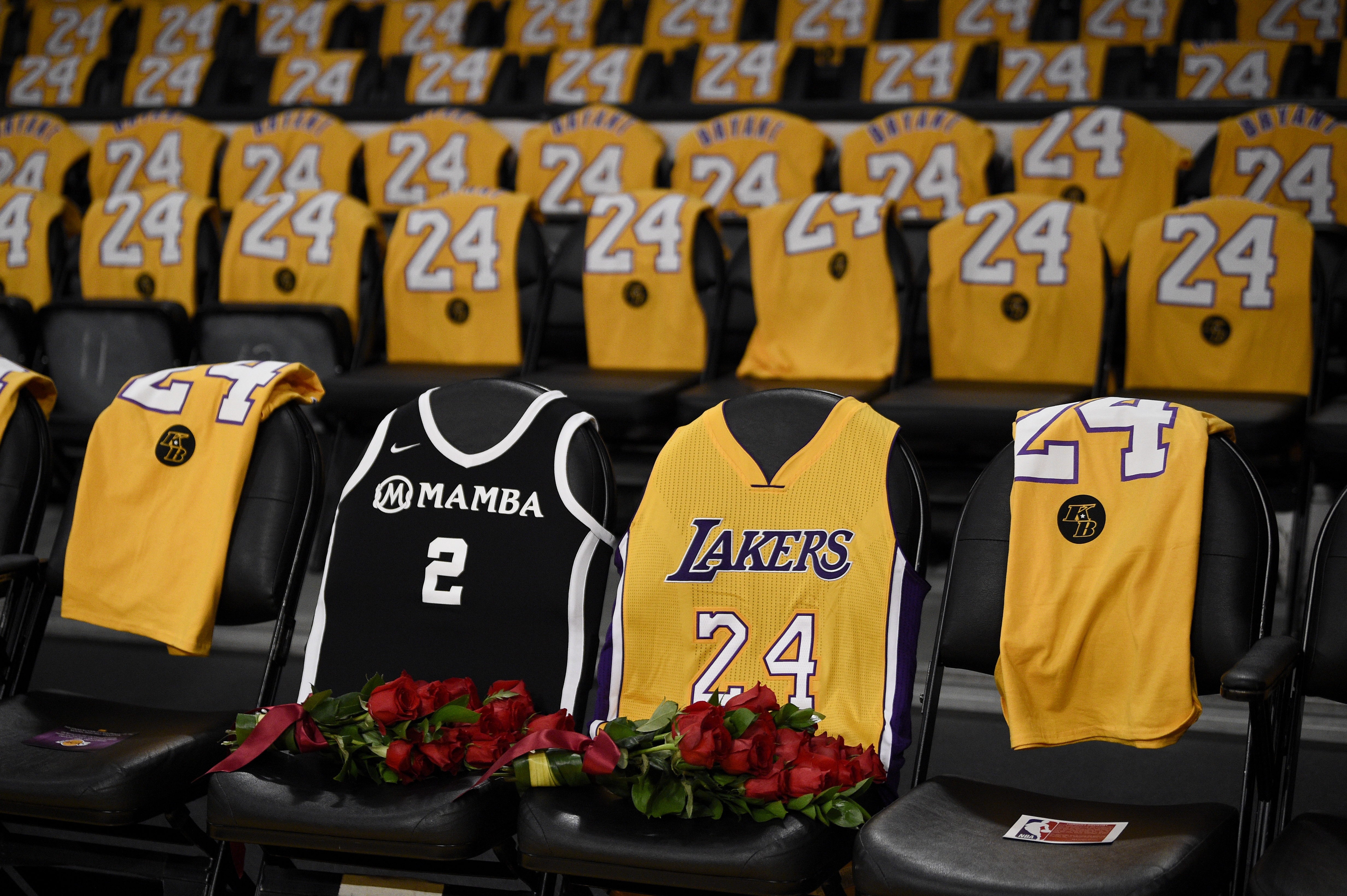 WATCH: Los Angeles Lakers hold moving Kobe Bryant tribute