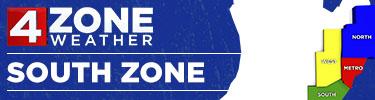 4ZONE Weather: South Zone