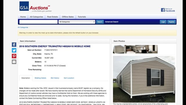 Channel 2 Investigates: FEMA trailers being auctioned away ... on housing floor plans, 400 sq ft studio floor plans, home floor plans, police floor plans, nsf floor plans, flood floor plans, fbi floor plans, mediterranean floor plans, bahamas floor plans, eoc floor plans, rv floor plans, fannie mae floor plans, single family floor plans, training floor plans, local floor plans, texas floor plans, fallout shelter floor plans, icc floor plans, southern floor plans,