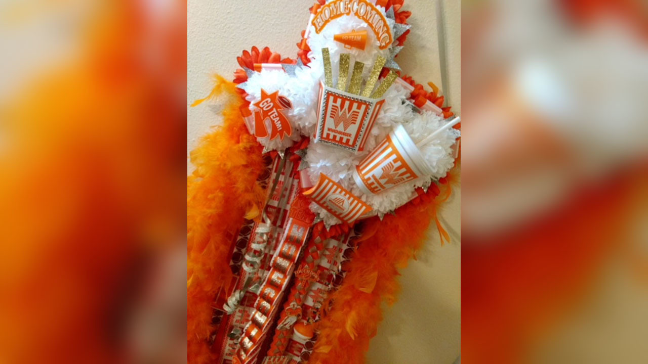 God Bless Texas And All The Homecoming Mums Inside A Texas