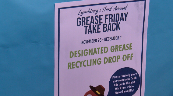 Lynchburg collecting, recycling grease after Thanksgiving - WSLS 10