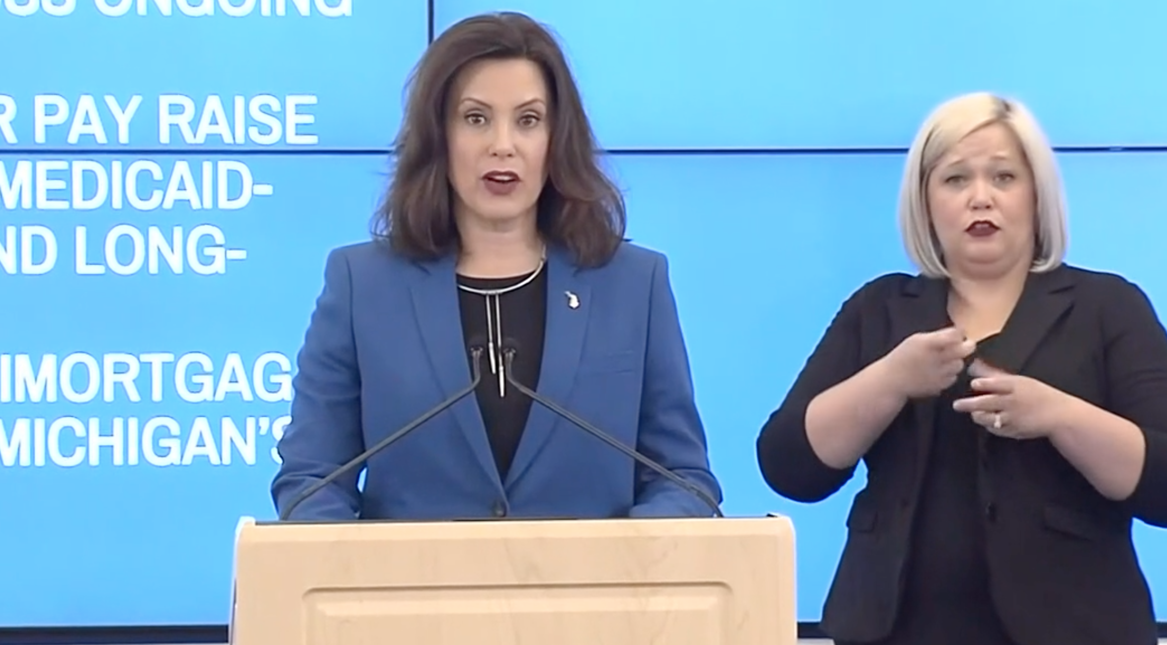 Michigan Gov Whitmer Extends Stay At Home Order Through May 15