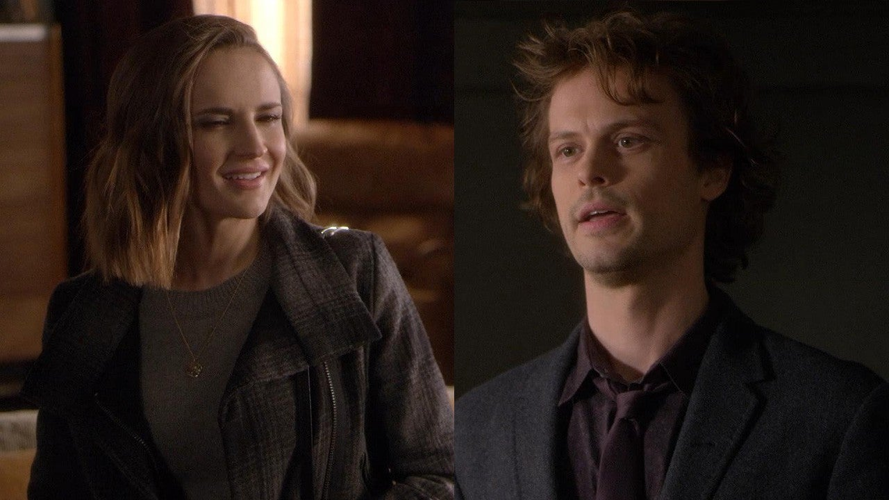 Criminal Minds Sneak Peek Has Rachael Leigh Cook Captured Reid S Heart Exclusive