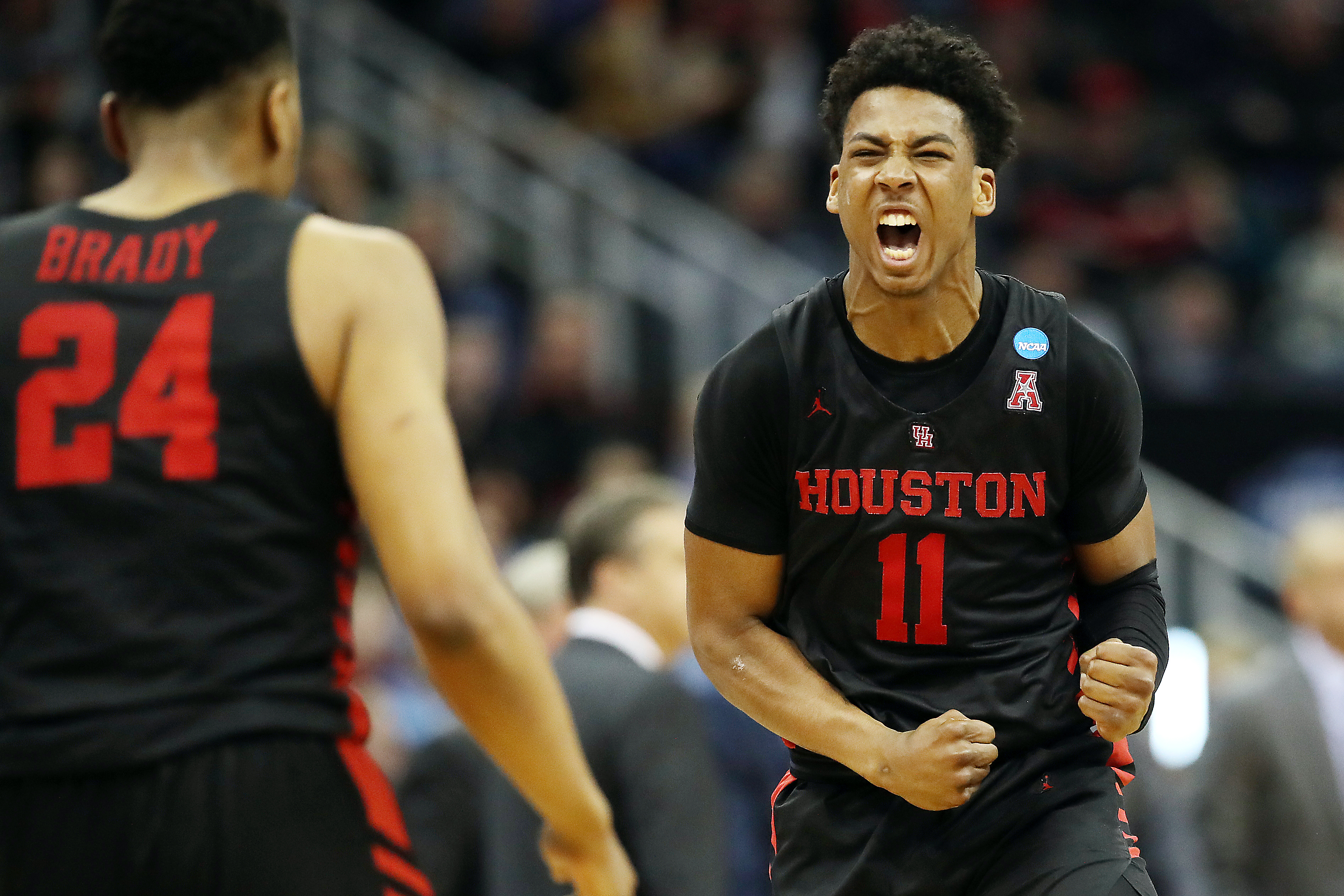 Houston Cougars guard Nate Hinton sits down for one-on-one interview