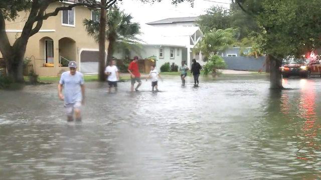 Storm surge floods St. Augustine's Davis Ss neighborhood on home macon ga, home jacksonville fl, home orlando fl, home bonita springs fl,