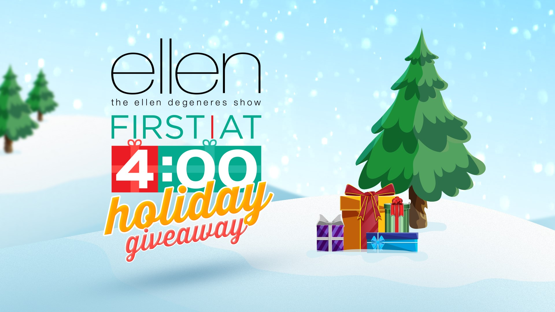 Ellens Christmas At Home Giveaway 2021 Ellen First At 4 Holiday Giveaway